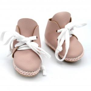 Hoge schoentjes licht roze