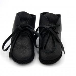 Hoge schoentjes zwart